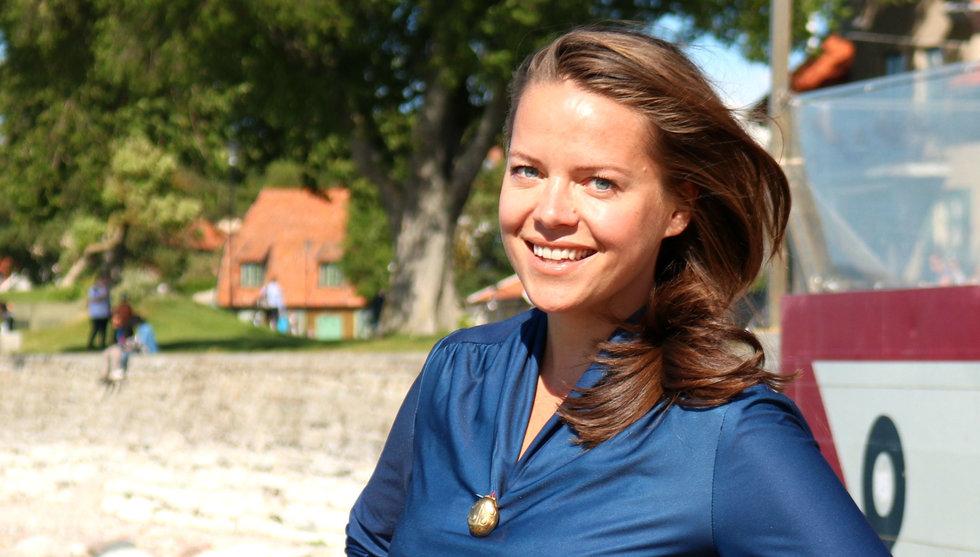Aurore Belfrage: Fråga inte om jag vill vara en kvinnlig investerare i en panel