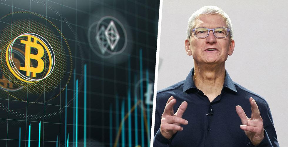 Apple flirtar med kryptovaluta – på jakt efter expert