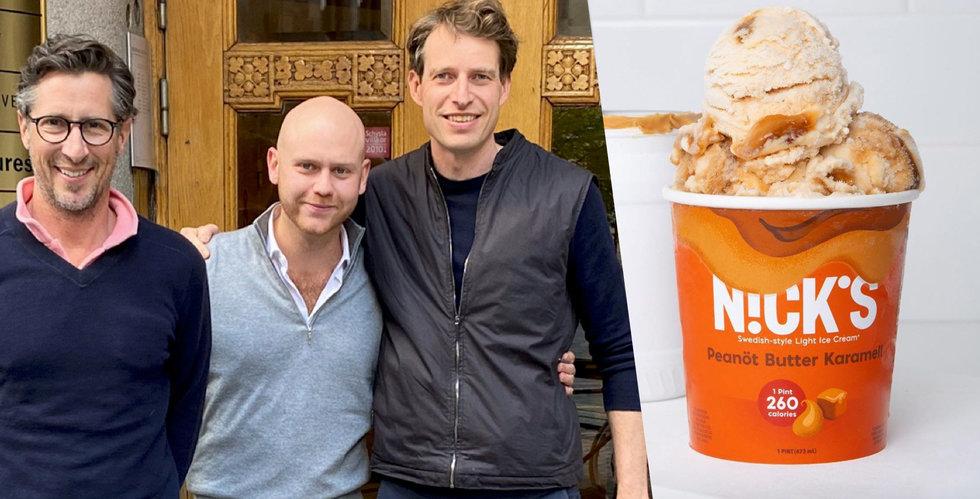 Nicks tar in mångmiljonbelopp till sockerfria glassar – storsatsar i USA