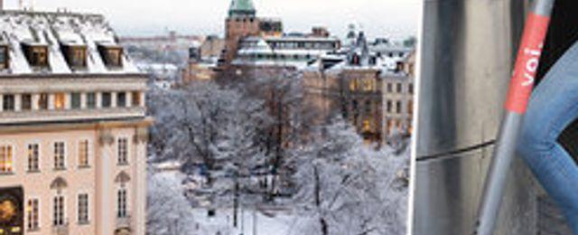 Breakit - Snö i Stockholm – då försvann plötsligt Vois sparkcyklar från gatorna