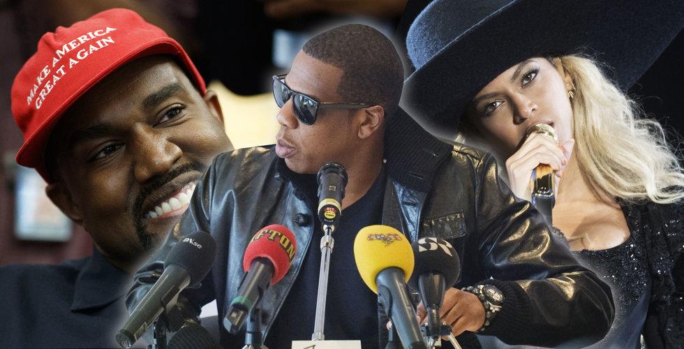Fick Beyoncé och Kanye West 320 miljoner falska spelningar av Jay Z:s Tidal?