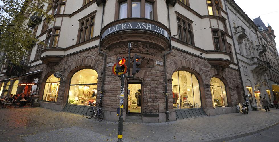 Laura Ashley i behov av omedelbar finansiering – aktien rasar