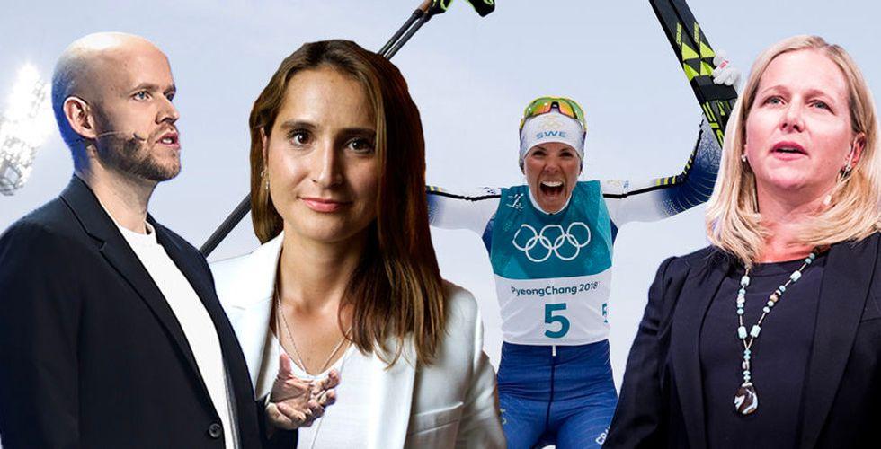Daniel Ek och Cristina Stenbeck: OS i Sverige är en unik möjlighet
