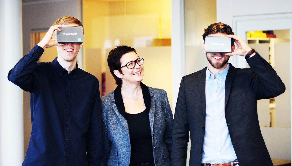 Bostadsvisningar i VR är första appen från SEB:s fintechlabb