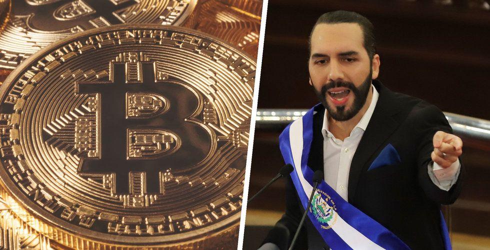 El Salvador godkänner bitcoin som betalningsmedel