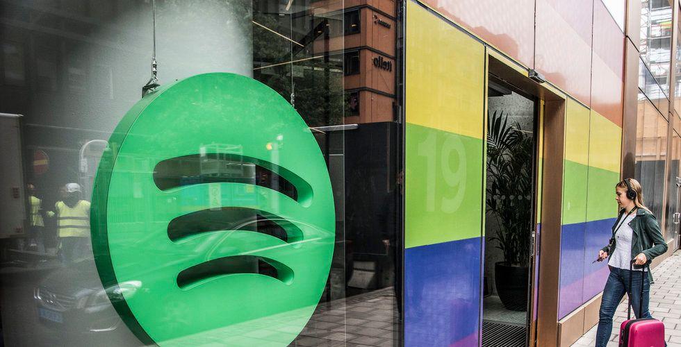 Uppgifter – Spotify betalade miljarder för poddtjänst