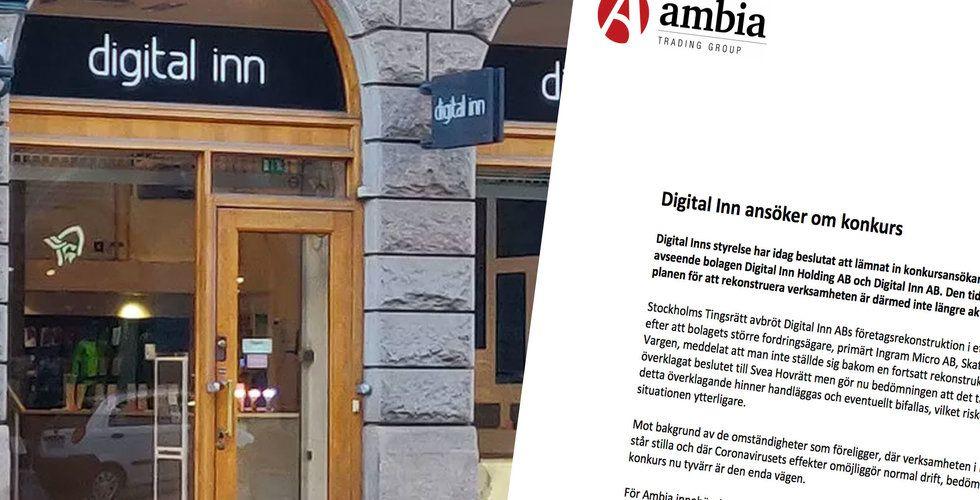 Digital Inn ansöker om konkurs