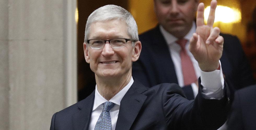 Apple första bolag att värderas över 1.000 miljarder dollar