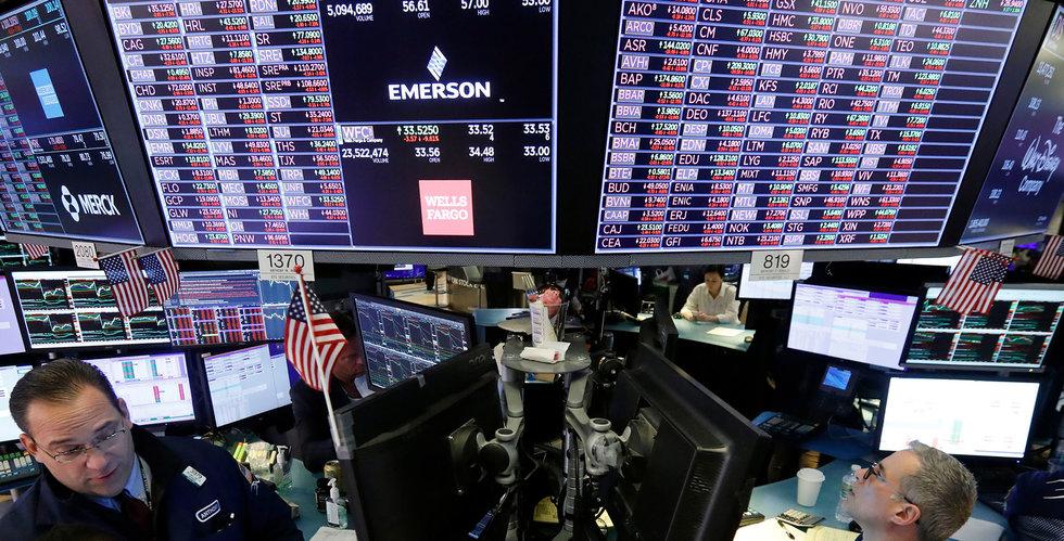 Fortsatt börsras i USA – värsta dagen sen 1987