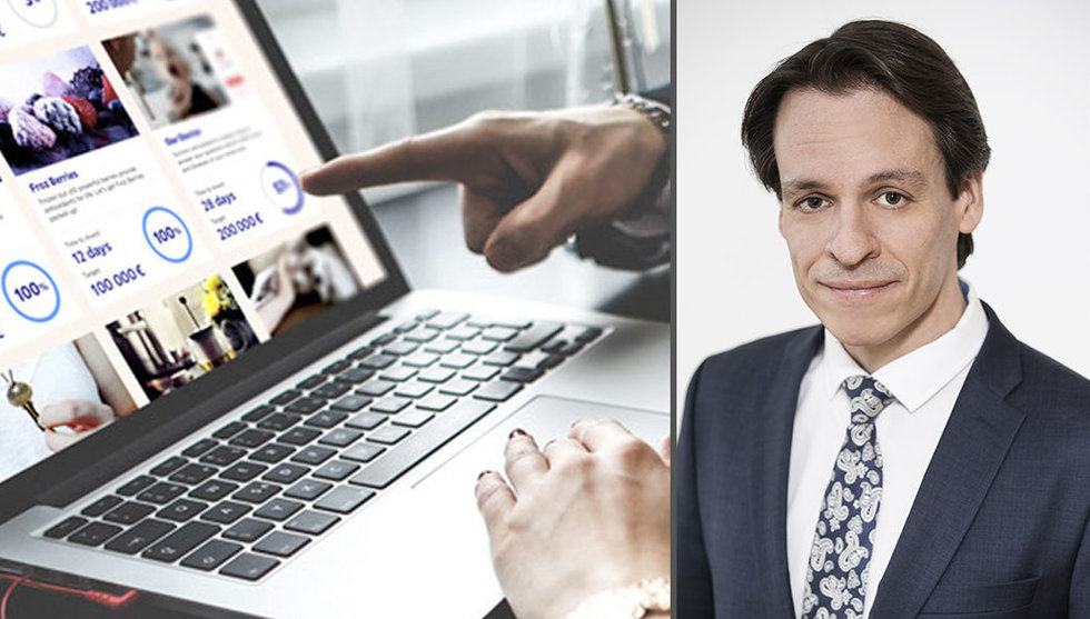 """Nordeas crowdfundingchef: """"Vi ska inte äta upp Fundedbyme"""""""