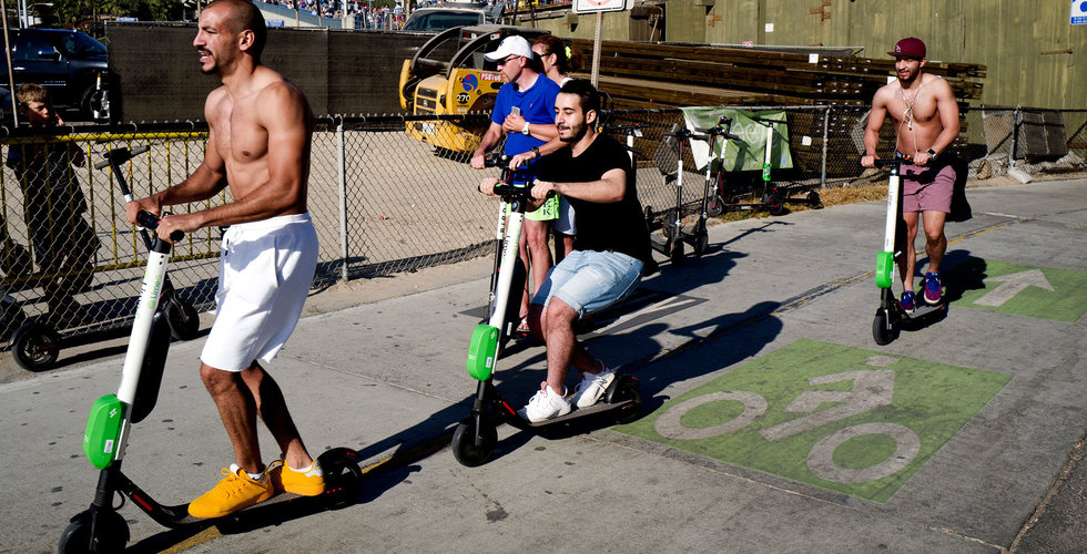 Elscooterföretaget Lime väntas gå back 300 miljoner dollar i år - The Information