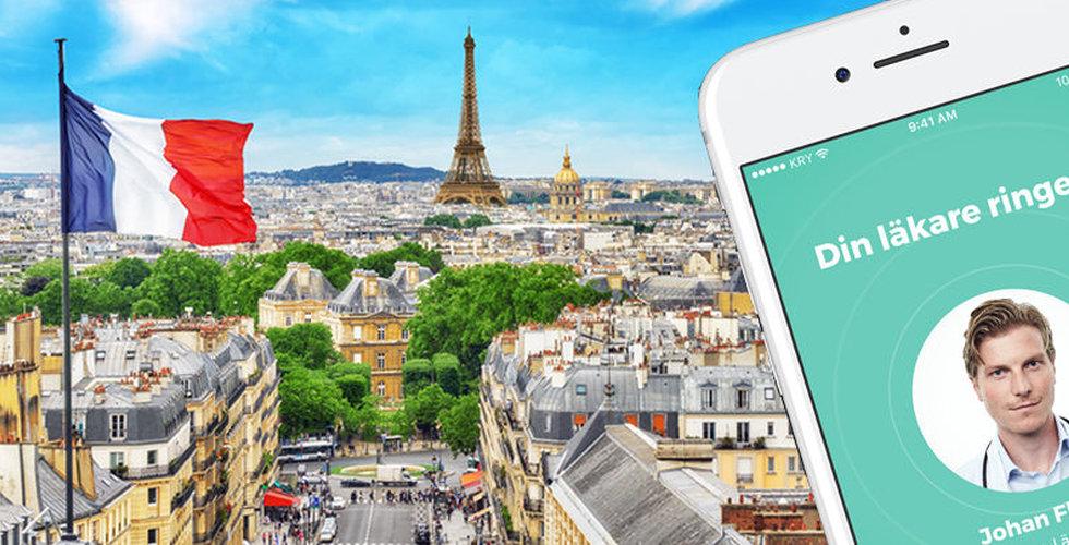 Kry i Frankrike börjar samarbeta med försäkringsstartupen Alan