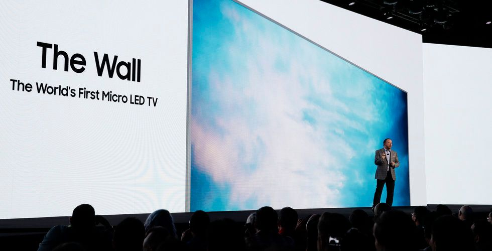 """Breakit - Här är Samsungs nya jätte-tv –kallas för """"väggen"""""""