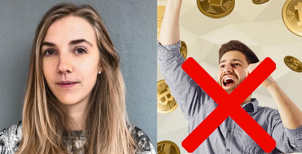 Breakit - Tove Andersson vill krossa herrklubben kring bitcoin – startar Kryptogäris