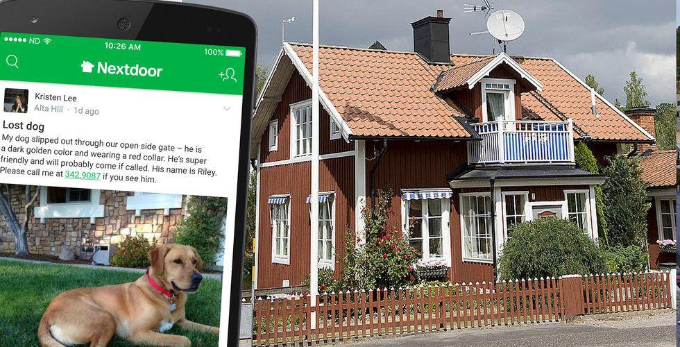 Nextdoor kommer till Sverige – och tar in över 1 miljard kronor i riskkapital
