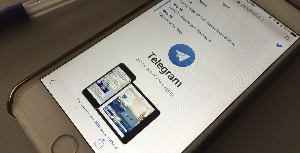Breakit - Rysk regulator vill blockera meddelande-appen Telegram
