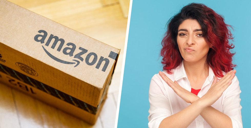 Svenskarna skippar Amazon – var femte ger e-handelsjätten nobben