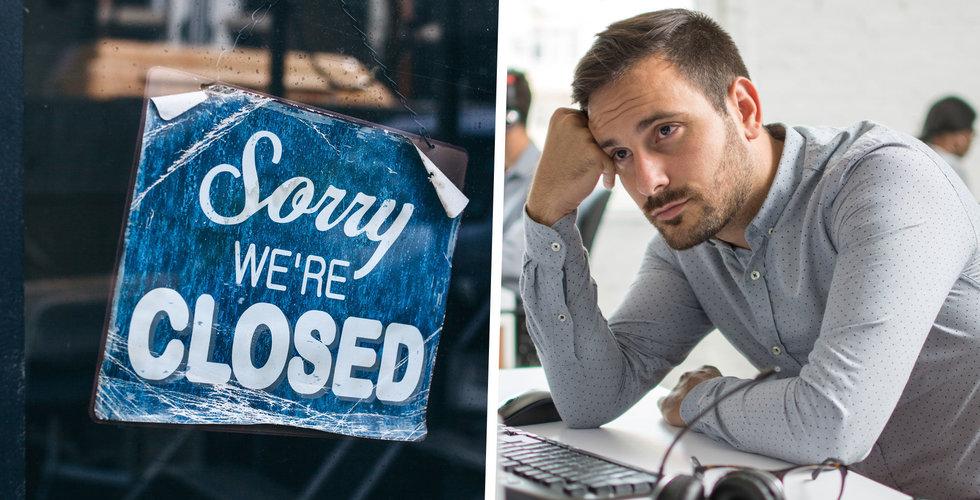 Här är sommarens största konkurser – techbolag i topp