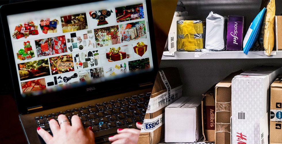 Julhandeln på nätet slår (som vanligt) rekord