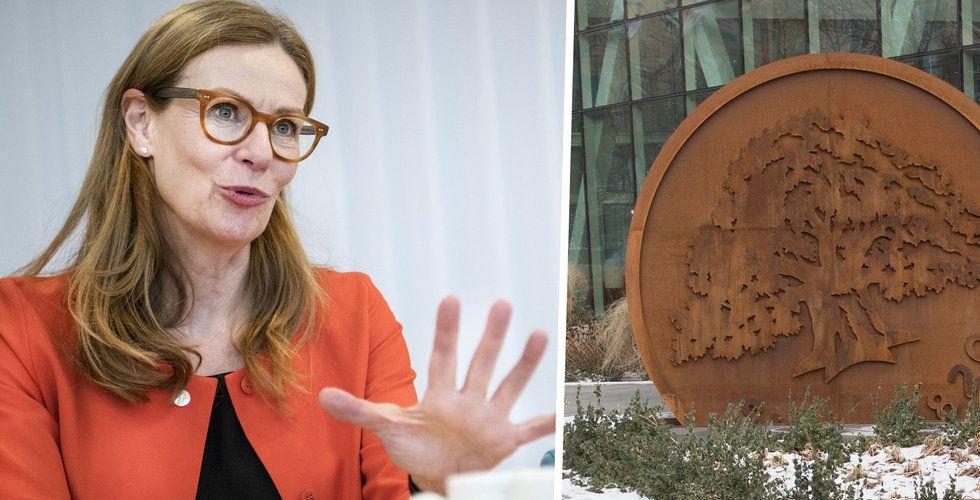 "Swedbanks vd Birgitte Bonnesen: ""Borde ha agerat snabbare"""