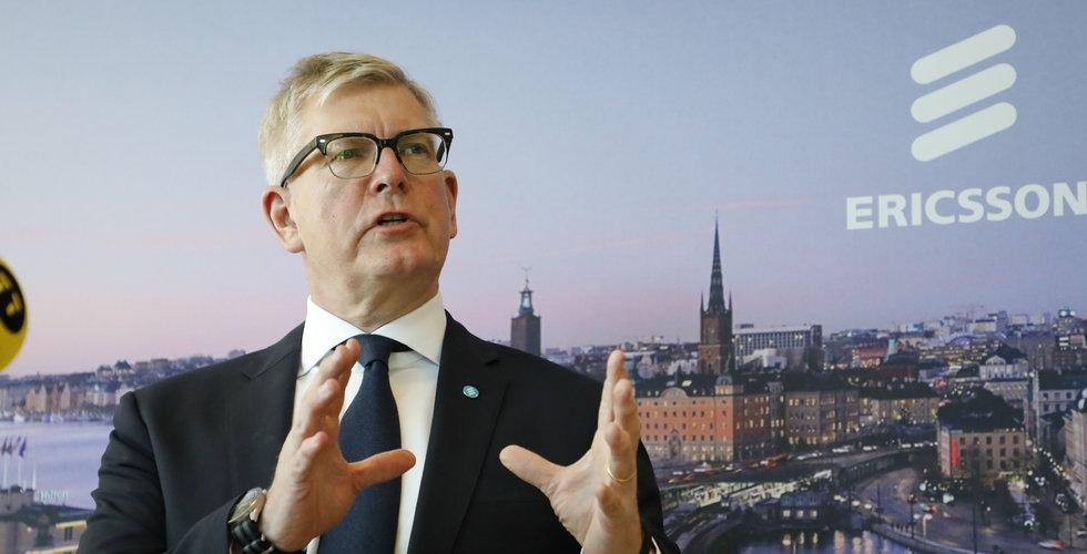 Ericssons rörelseresultat klart högre än väntat