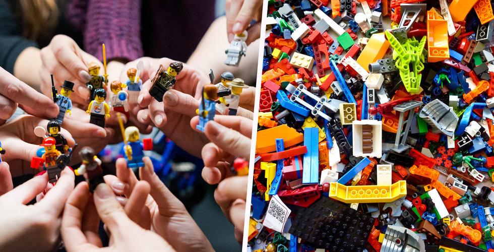 Lego pressas om klimatet – ska börja hyra ut klossar