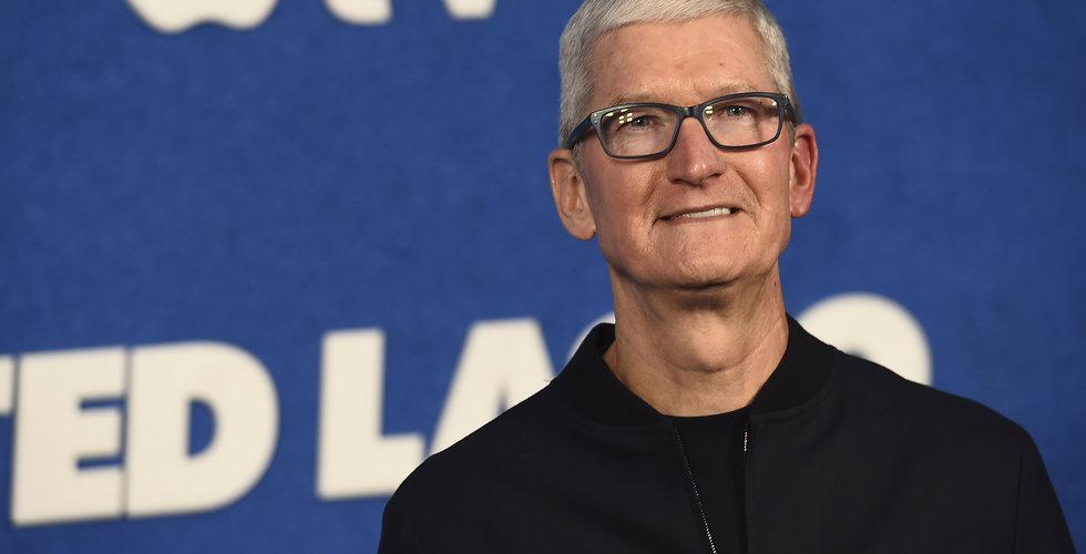 Apples vd Tim Cook får 2,5 miljoner aktier i nytt kompensationsprogram