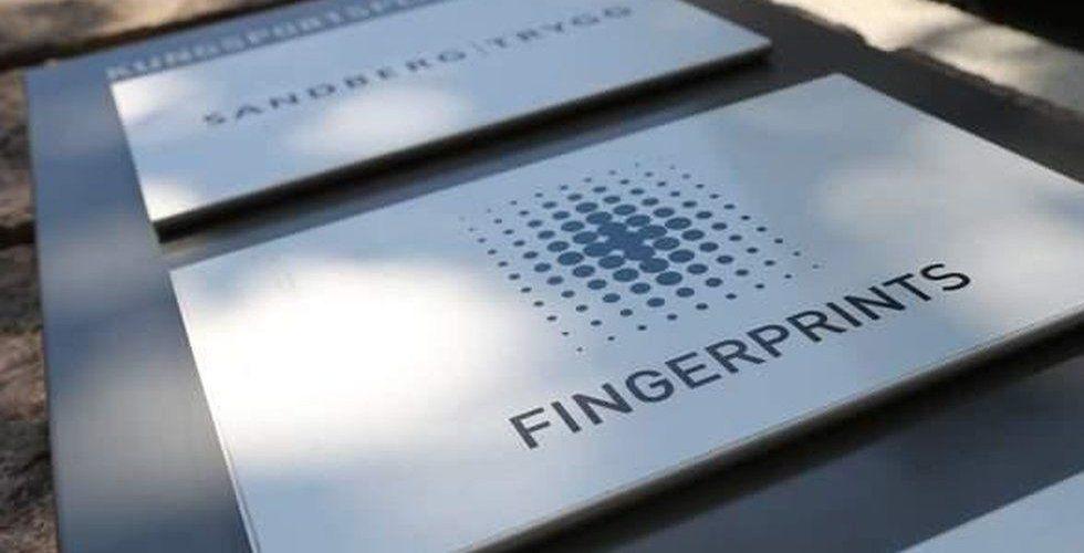 Fingerprints försäljning oväntad hög
