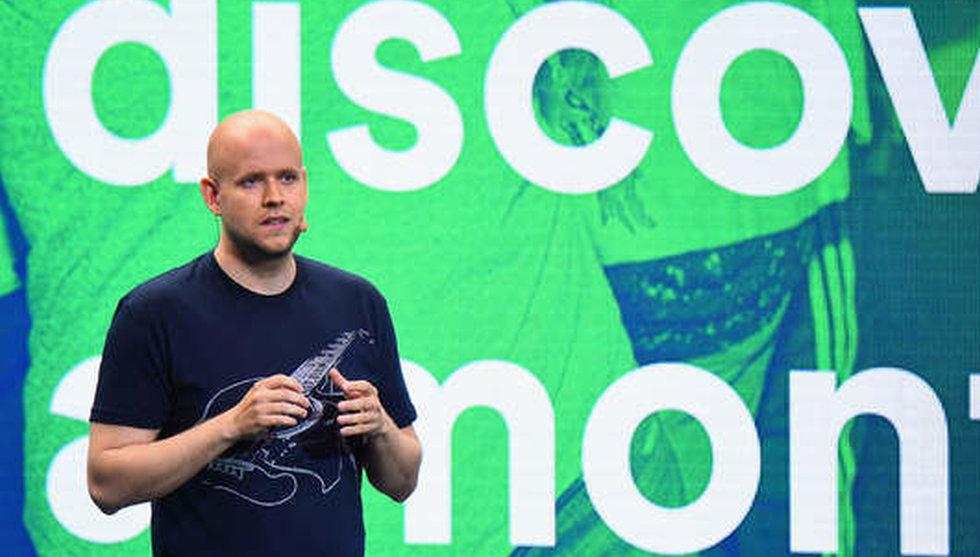 Breakit - Efter stjärnornas krav – nu begränsar Spotify sin musiktjänst