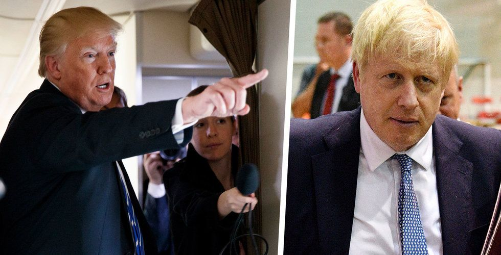 Johnson backar upp digitalskatt trots USA:s tullhot