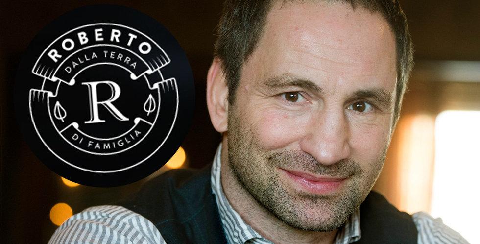 Paolo Roberto öppnar e-handel – ska sälja mat under nya varumärket Roberto