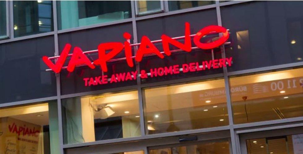 Vapiano i Sverige sätts i konkurs