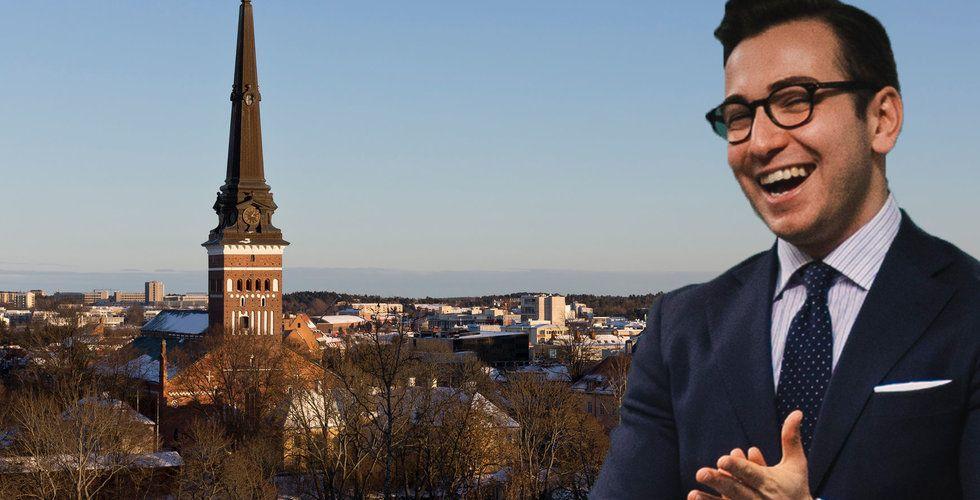 Här är Fahrim Shirinzades nya satsning – investeringar och kontorshotell i Västerås