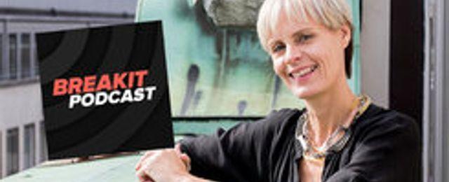 Katarina Andersson kan vinna Guldörat – nomineras för Breakits podcast