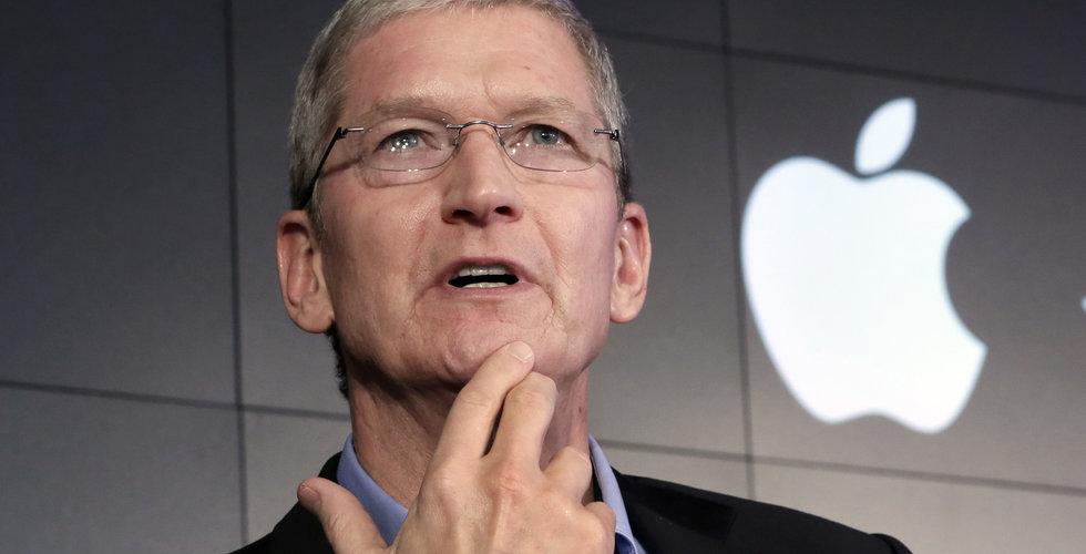 Apple vinstvarnar – svagare Iphone-försäljning än väntat