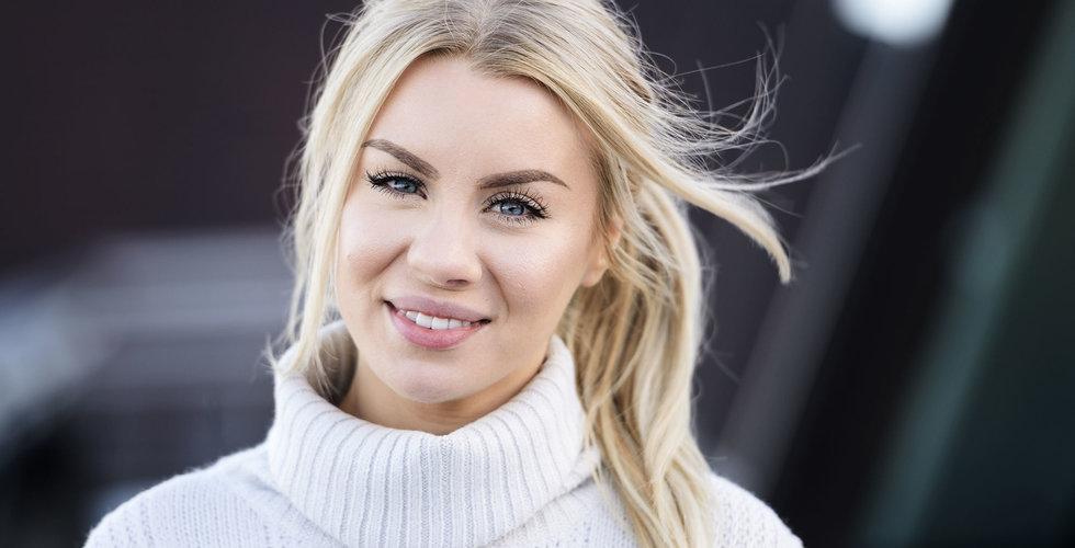 "Therese Lindgren gör en ""Löwengrip"" – drar igång eget skönhetsbolag"