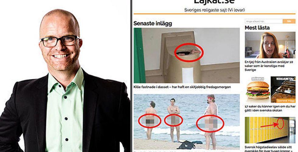 Annonsveteranen Richard Sandett blir ny vd för Lajkat