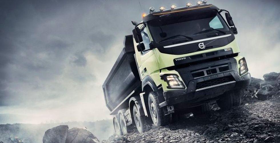 Volvo inleder ny satsning - med självkörande lastbilar i gruvor