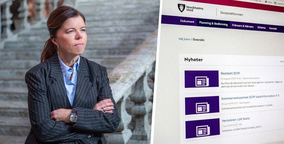 Efter infekterade bråket – Stockholm öppnar upp skolplattformen