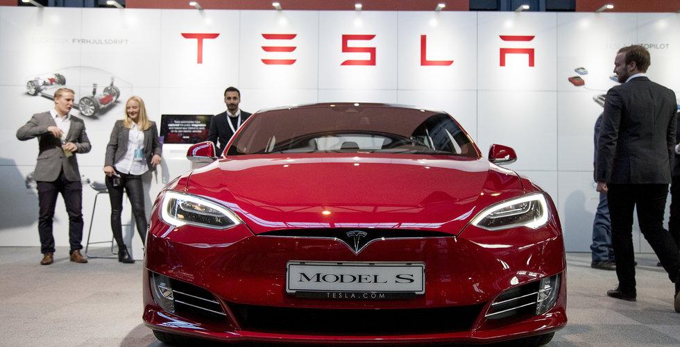 Breakit - Tesla slår nytt kvartalsrekord – så många bilar levererades