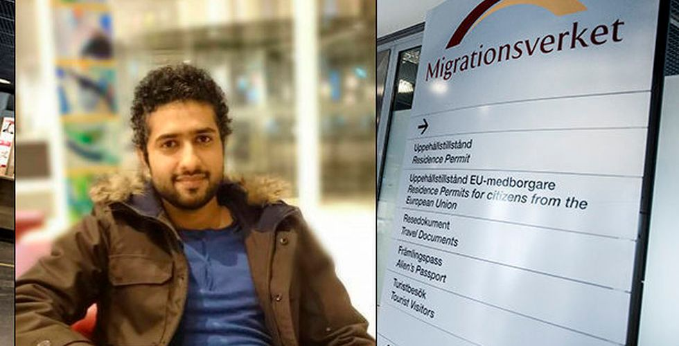 """Stjärnkodaren Tayyab Shabab utvisas: """"Det känns fruktansvärt"""""""