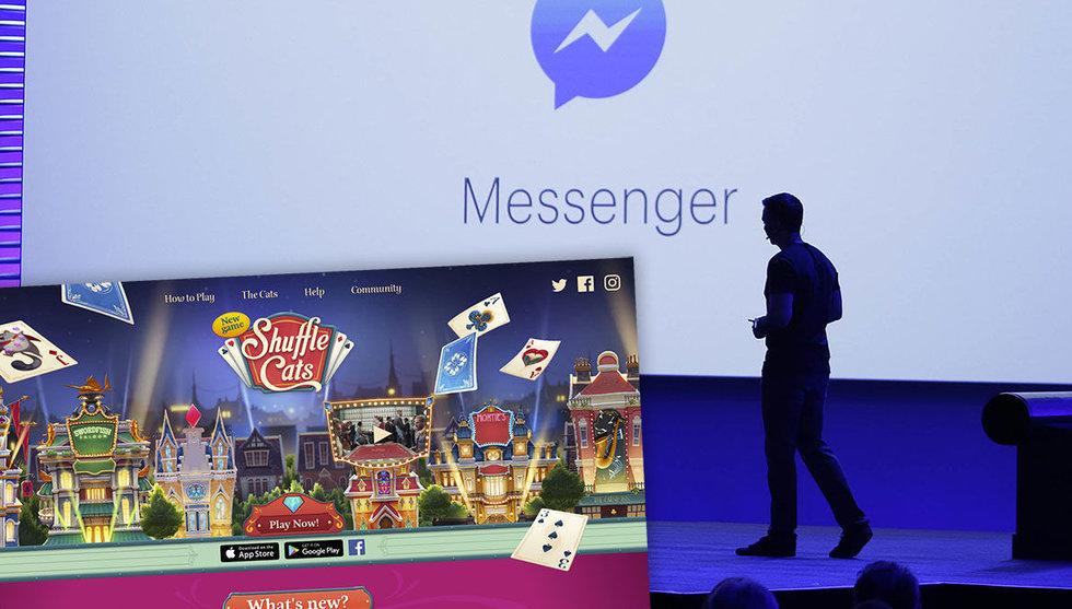 Breakit - Nu ska Messenger bli en stor spelplattform – utmanar Apple