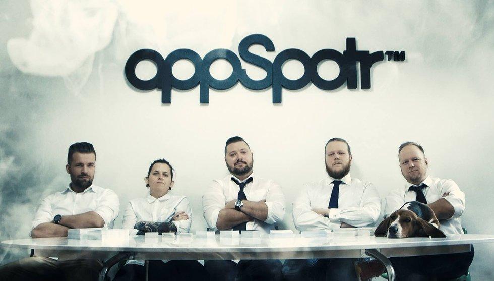 Användarsiffror exploderar för Appspotr efter börsnoteringshajp
