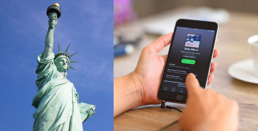 Dokument avslöjar: Nu har Spotify fler anställda i USA än i Sverige