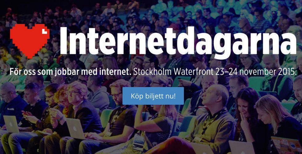 Webbfestivalen Internetdagarna utrymdes efter brandlarm