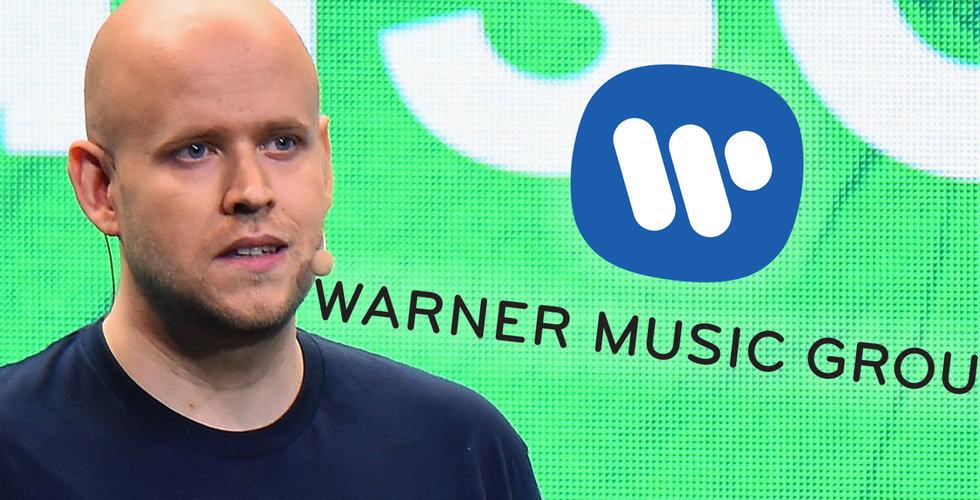 Bråket trappas upp – Warner anklagar Spotify för lögner