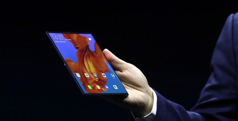 Huawei visar upp vikbar 5G-smartphone