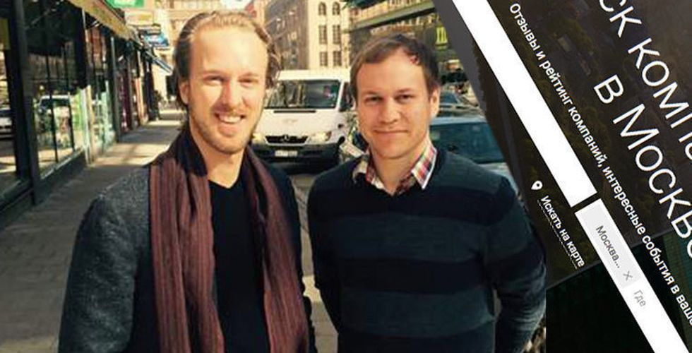 "Svenskarna bakom rysk ""Eniro-kopia"" köper ukrainsk startup"