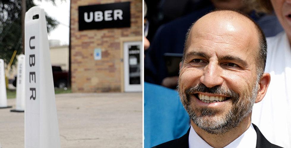 Uber får jättevärdering på över 1000 miljarder kronor
