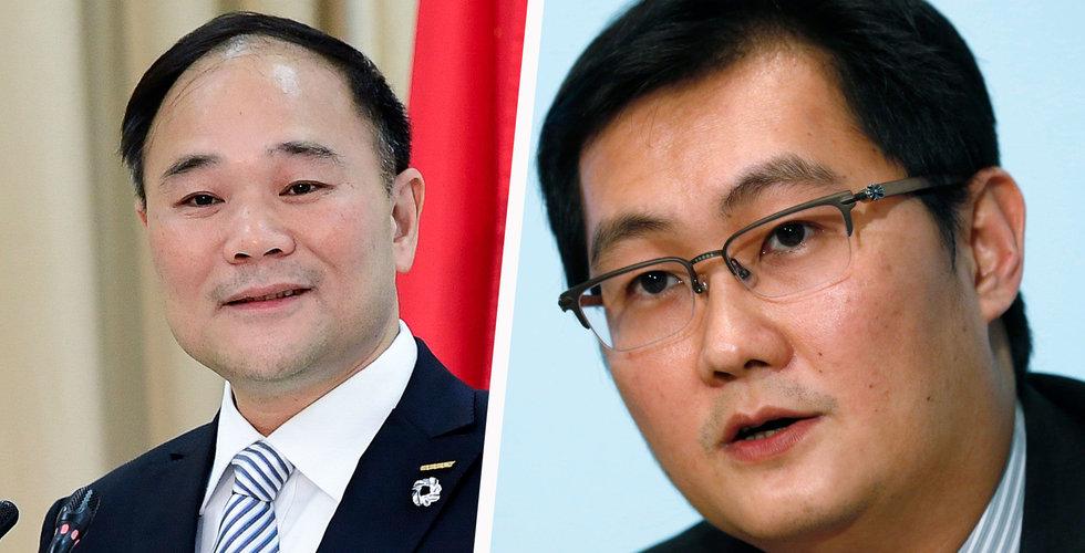 Geelys ordförande Li Shufu i ordkrig med kinesiska jätten Tencent